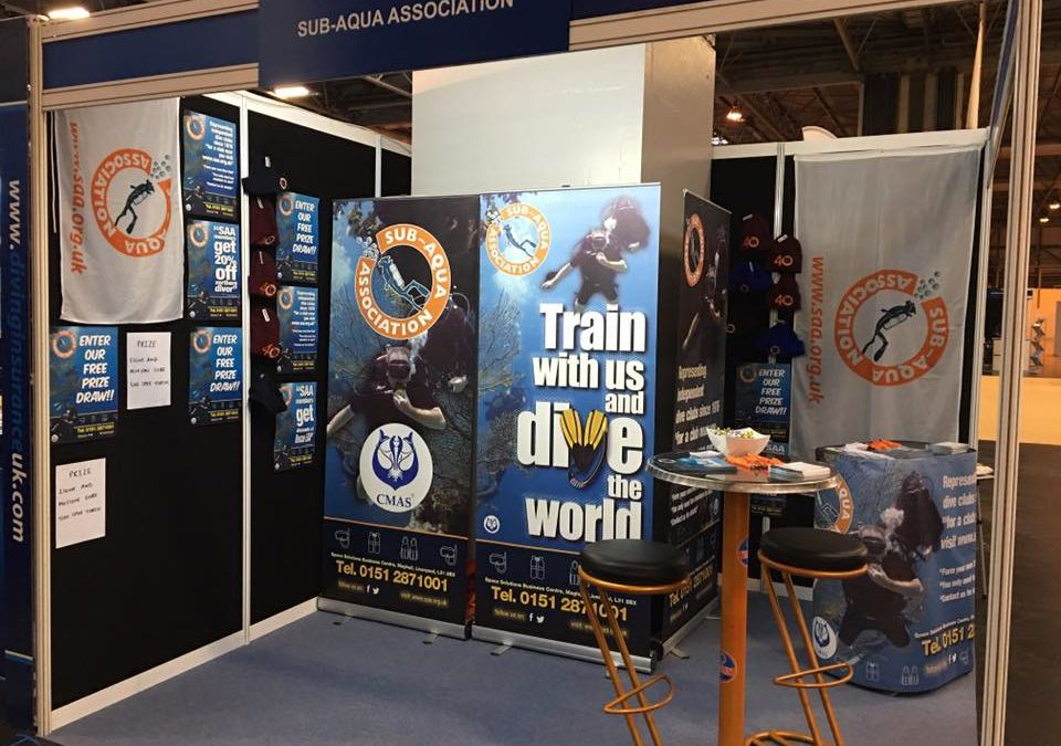 Talk all things scuba with us at Dive 2017