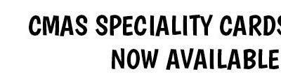 CMAS Speciality Cards