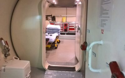 NHS Reducing Hyperbaric Chamber from 10 to 8